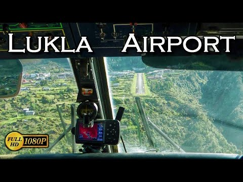 Lukla airport. One of the most dangerous airports in the world.