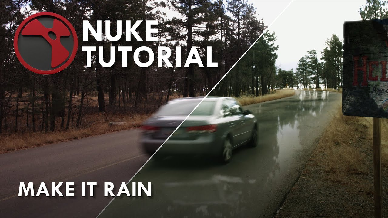 Nuke Tutorial - Make It Rain
