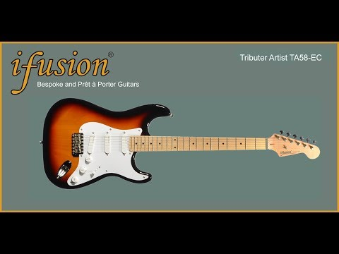 iFusion® Tributer®  Artist TA58-EC Electric Guitar Review