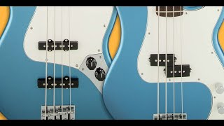 Bass comparison - Fender precision, jazz bass, Musicman bongo, stingray