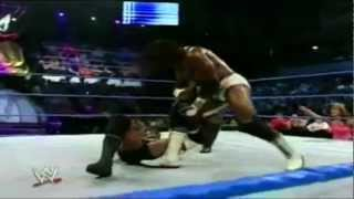Bobby Lashley vs Booker T Smackdown 7-2-06 Highlights