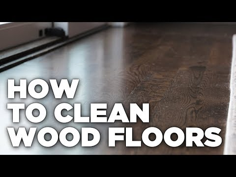 RTB Cleaning Wood Floors