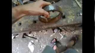 як зробити ніж з підшипника