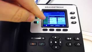 How to Make an Attended Transfer on a Grandstream GXP2130 VoIP Phone