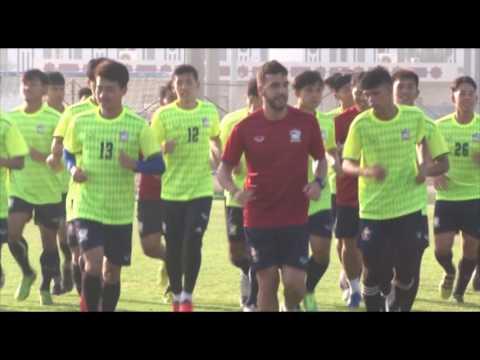ทีมชาติไทยซ้อมเช้า 9 10 59