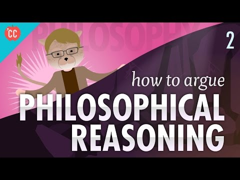 Thumbnail: How to Argue - Philosophical Reasoning: Crash Course Philosophy #2