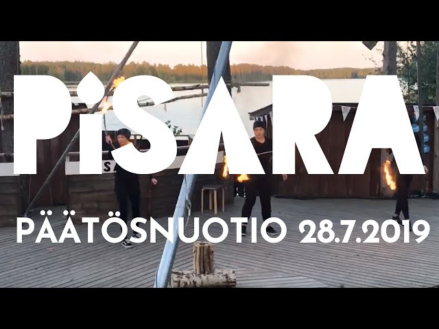 Ttila Goes Pisara Live: Pisara-leirin sunnuntain päätösnuotio