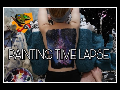 Painting The Galaxy On My Girlfriend's Back (Again)