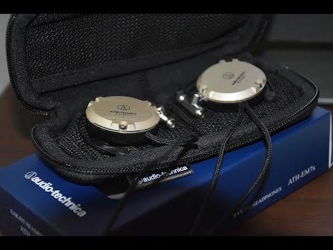 Audio-Technica | ATH-EM7x Unboxing