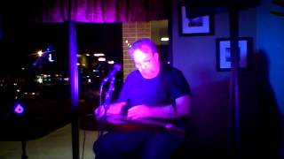 Merv Collins excellent slide instrumental at Wicked Good Open Mic