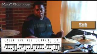 Aaron Spears | Drum Transcription Lesson