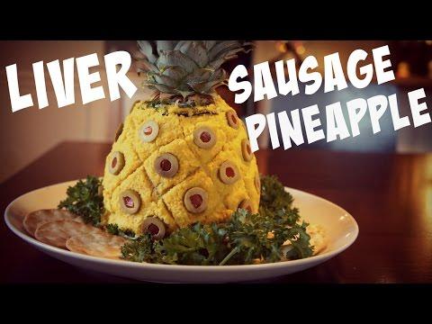Liver Sausage Pineapple Retro Recipe - You Made What?!