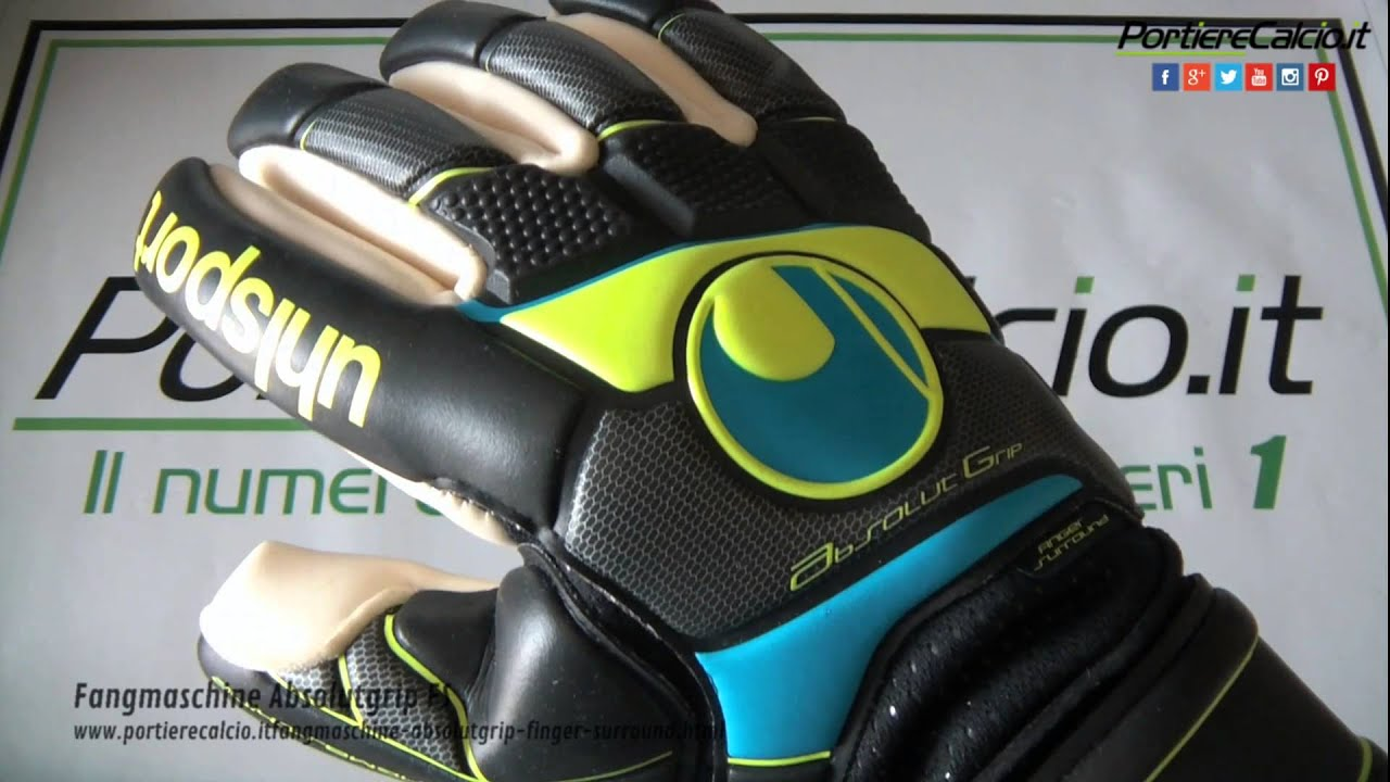 Guanti portiere Uhlsport Fangmaschine Absolutgrip Finger Surround by ... c1820c4d1f27