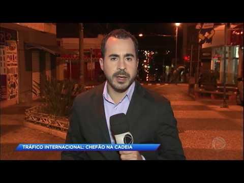 Polícia prende brasileiro chefe do tráfico internacional