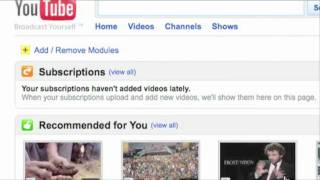 YouTube 101: Customizing Your Homepage thumbnail