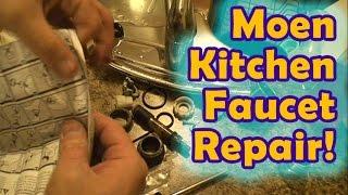 Leaky Moen Kitchen Faucet Repair 8 Steps Instructables