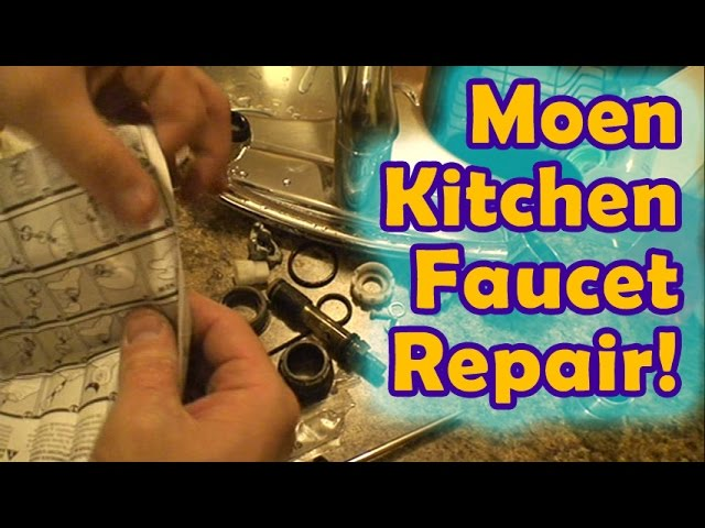 Leaky Moen Kitchen Faucet Repair 8 Steps Instructables
