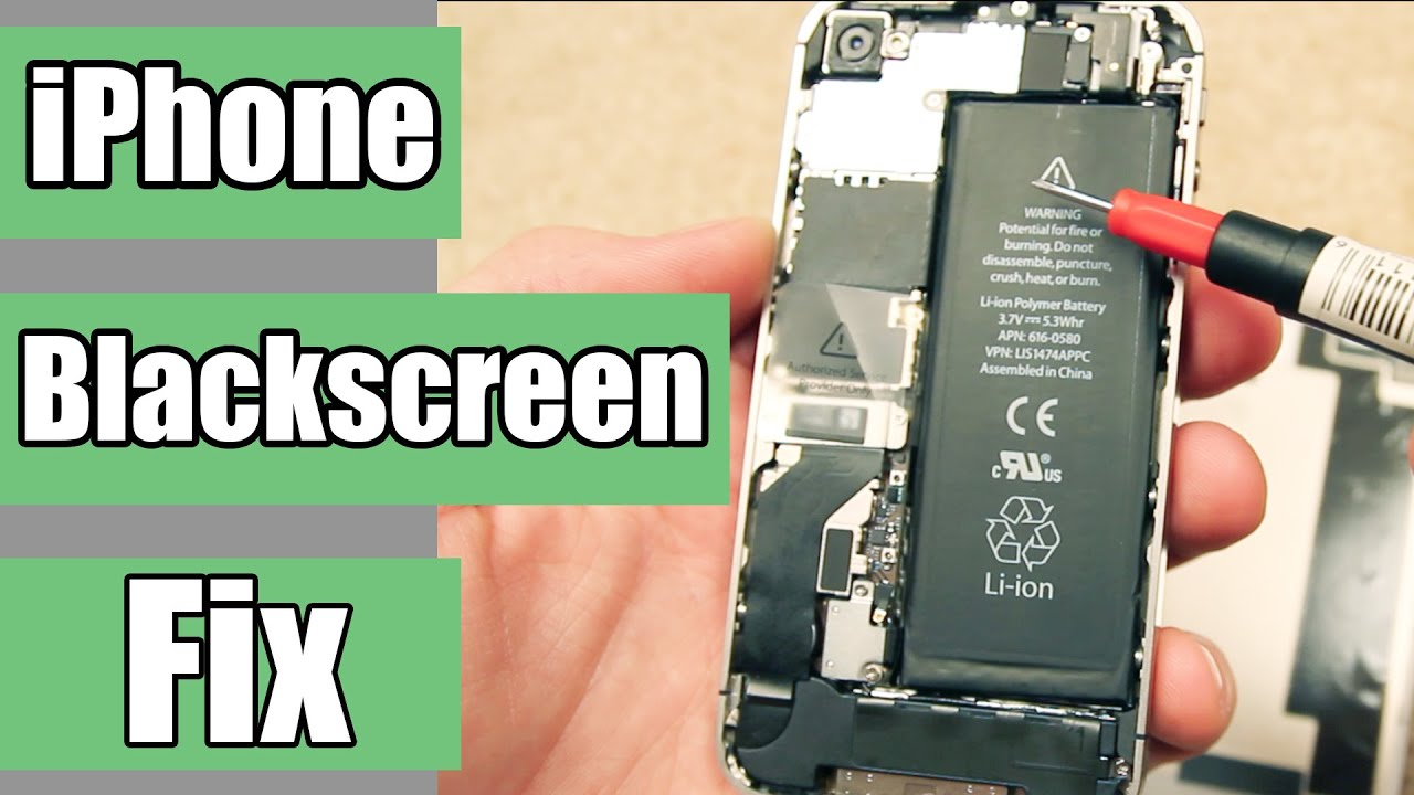 iphone screen went black how to fix how to fix black and unresponsive iphone screen 2338