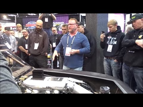 Street Outlaws The Reaper reveals new Procharged Camaro at PRI