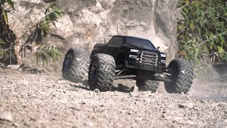 ARRMA 1/8 NERO BIG ROCK BLX 4WD MT w/Diff Brain RTR Video