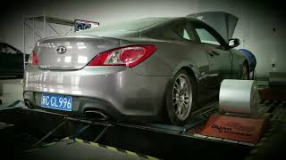 V8 supercharged Genesis Coupe