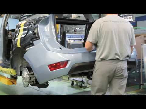 How do you build CITROEN C4 GRAND PICASSO in less than two minutes | AutoMotoTV