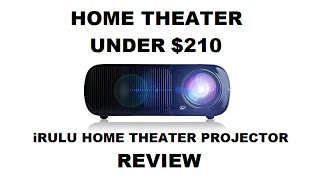 iRULU Home Theater Projector REVIEW – Home Cinema Projector Under $210