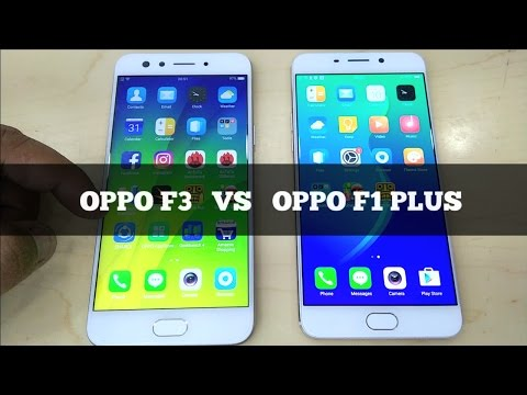 Thumbnail: Oppo F3 Vs Oppo F1 Plus - Speed Test & Look Comparison