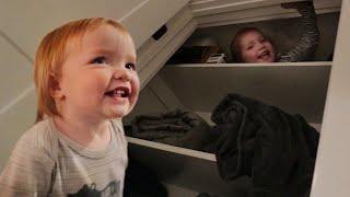 Niko Learns Hide N Seek Adley Shows Baby Brother Our Favorite Family Game And Date Night Routine