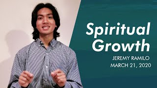 BCC Sunday Service | Spiritual Growth | Jeremy Ramillo