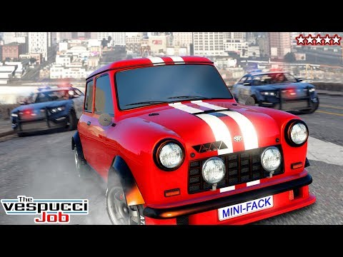 GTA 5 New DLC Cars & Game Mode - GTA Online DLC Focus RS Vespucci Job - Did GTA Copy My Game Mode
