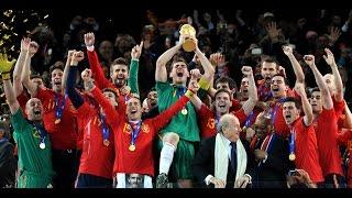 Football's Greatest International Teams .. Spain 2008 - 2012