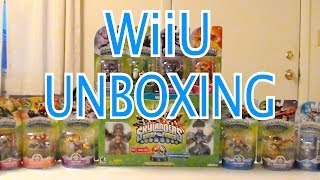 Skylanders Swap Force - WiiU Game Unboxing