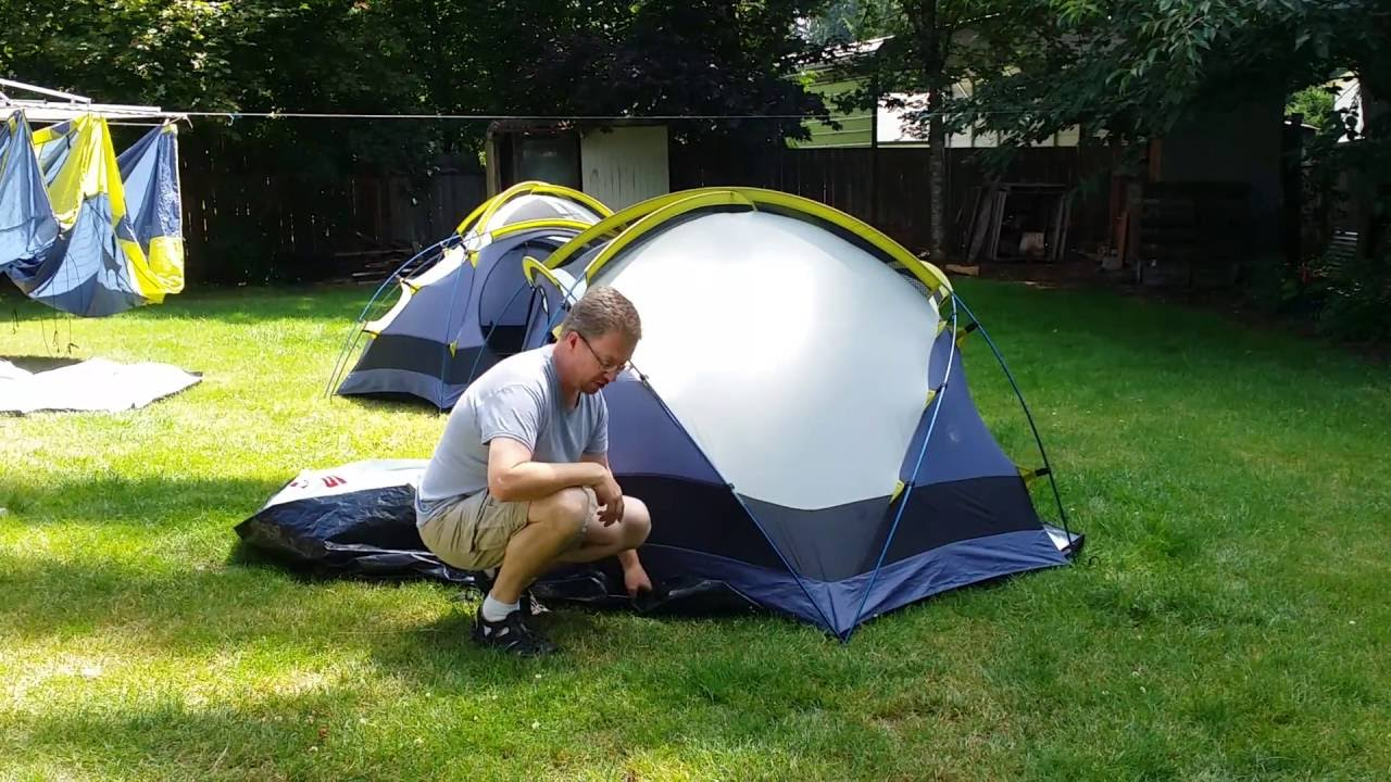 Tent set up ground cover tarp & Tent set up: ground cover tarp - YouTube