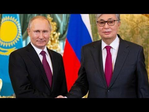 Токаев и Путин обсудили в Омске экономику и экологию