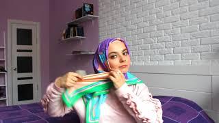 Люби свой хиджаб. Способ 3. Как повязать платок