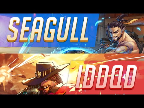 Overwatch Pro Highlights 1 • Seagull, Iddqd, & Chipshajen • Hanzo & Mccree • Season 2