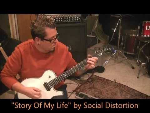 How to play Story Of My Life by Social Distortion on guitar by Mike Gross