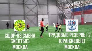 Турнир \MOSCOW JUN OR FOOTBALL CUP\. СменаМосква - Трудовые резервы-2Москва. г.Балашиха.