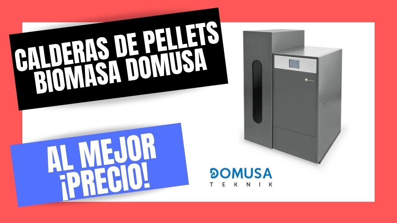 Caldera de pellets biomasa domusa bioclass precio youtube - Precio caldera pellets ...