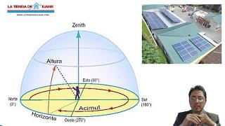 b09 como orientar un panel solar acimut y angulo de elevacin