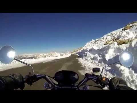 Mt. Evans Springtime Descent - A Colorado Motorcycle Adventure