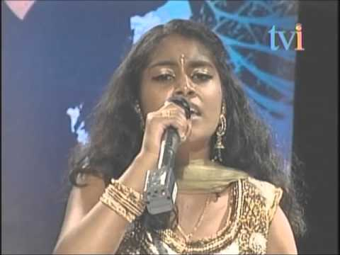 Jathavi Shanmuganantham Singing Idhayam Enthan Idhayam- Superstar Junior Season 3