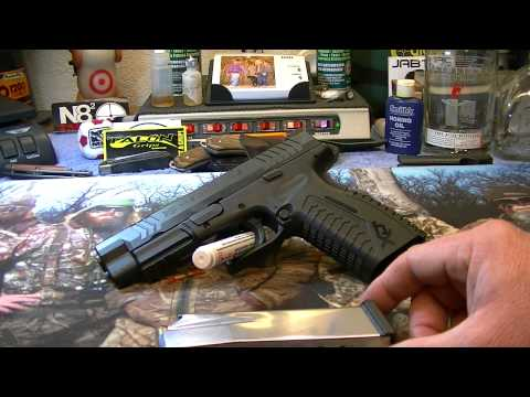 Springfield XDm 45, 4.5 the Particulars