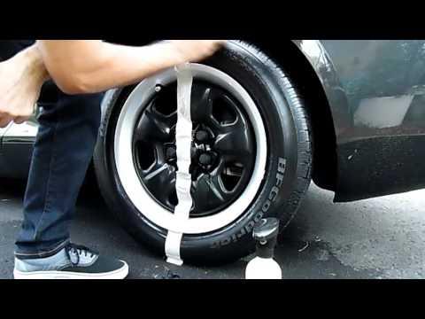 Adam's Tire Shine vs Chemical Guys Tire + Trim Gel