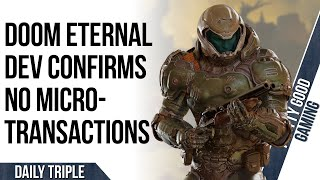 Doom Eternal Won't Have A Microtransaction Store!