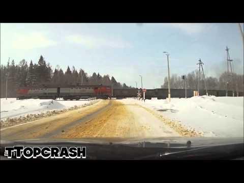 Porsche Cayenne - Train :: Crash Test
