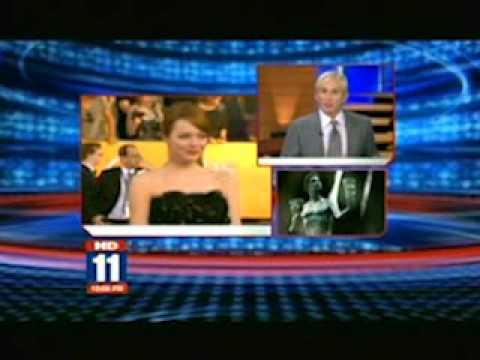 Fox News LA 10PM - David Meister talks about 2012 SAG Awards Fashion