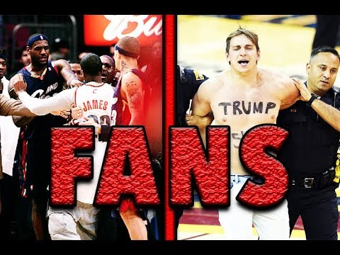 5 TIMES NBA FANS RAN ONTO THE COURT