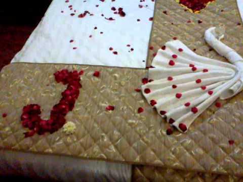 Delightful Honeymoon Decorated Room